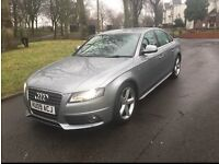 """2009 AUDI A4 S LINE 1.8 TFSI SALOON """"FSH + GREAT FAMILY CAR + DRIVES VERY GOOD + MUST BE SEEN"""""""