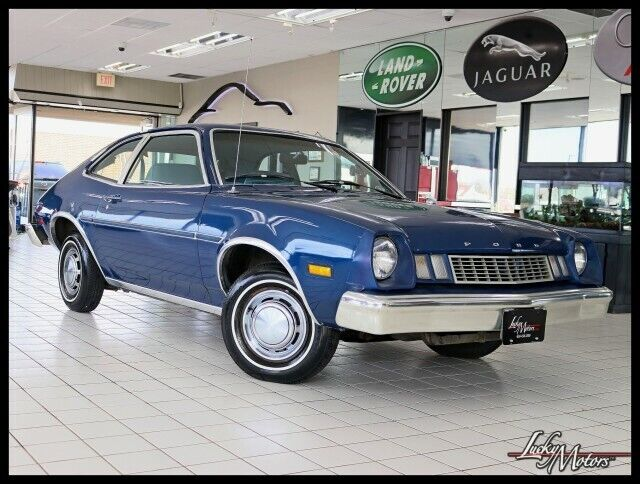 1978 Ford Pinto  21019 Miles Blue Coupe  Manual