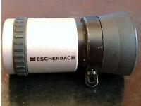 Eschenbach 1673 Keplerian Monocular telescope