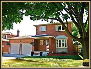 BEAUTIFUL WHITBY 3 BDRM HOME FOR LEASE - AVAILABLE NOW