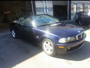BMW 325 ci convertible 2002