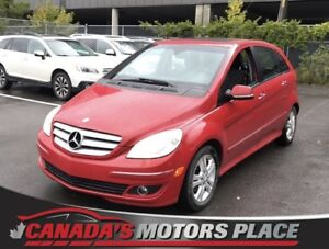 2008 Mercedes-Benz B-Class Turbo Turbo no accidents Red