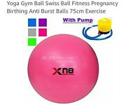 Yoga / Gym / Fitness / Pregnancy Ball Pink