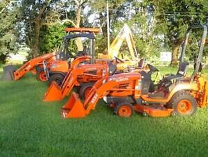 LAWN TRACTORS AND LANDSCAPE EQUIPMENT FOR $ CASH $