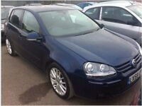VW Golf GT Sport 1.4, 5dr, Automatic, Full Leather trim, Only 25K warranty Mileage.