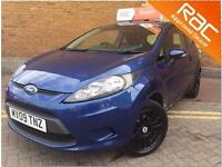 FORD FIESTA 1.25 Style 3dr (blue) 2009
