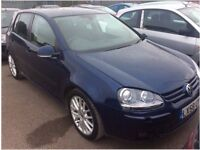 """VW Golf """"GT Sport"""" 1.4, 5dr, Automatic, Full Leather trim, Only 25K Miles"""