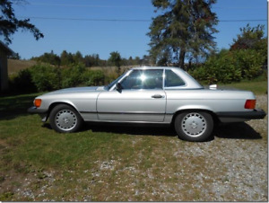 1986 Mercedes-Benz 500-Series Convertible