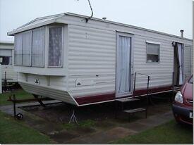 6 Berth, pet friendly, caravan for hire. Mablethorpe