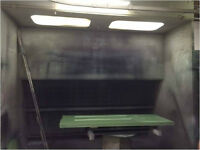 Spray Booth with Lighting and Ventilation System- BEST OFFER