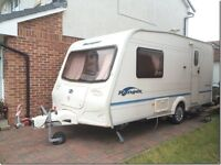 2004 BAILLEY RANGER CARAVAN Model: 460/2, 2 Berth, Washroom, Fridge, Gas Hob, Fitted with Powermover