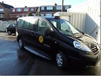 Fiat Scudo Hackney Taxi, Swansea Plated