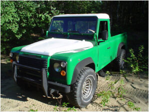 1992 Land Rover Pick Up Truck Defender automatic A/C