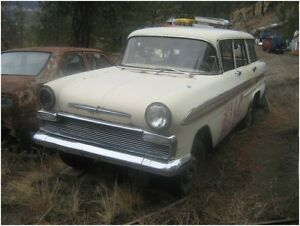 Looking for an 1959 - 61 Envoy Sherwood Estate Wagon