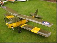 RC tiger moth airplane