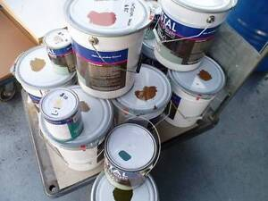 GARAGE, SHOWROOM, CONCRETE FLOOR PAINT 10 LT VARIOUS COLOURS, Underwood Logan Area Preview