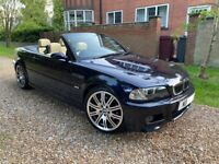 Bmw M3 Convertible E46 Individual With Hardtop, 2002 , Carbon Metallic With Champagne Leather,Manual