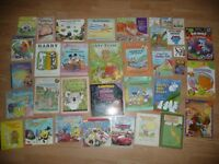 36 Young school aged children books less then .50 cents each