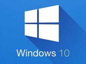 Install Windows 10 operating system