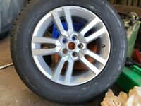 Landrover Freelander 2 Alloy wheel and Tyre
