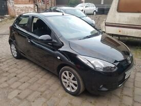 2008 MAZDA 2 - 1.4 TD (diesel) LOW MILEAGE 92000 miles,tax 30 per year, AMAZING over 68.9 mpg