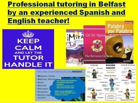 GCSE/ A LEVEL Spanish and English tuition- by an experienced teacher.