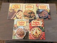 M&S (St Michael) Cookery Library Books, Five per lot.