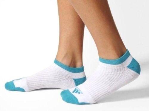 Adidas Comfort Low Golf Sock 1 Pair Exclusive Women Golf Socks White/Energy Blue