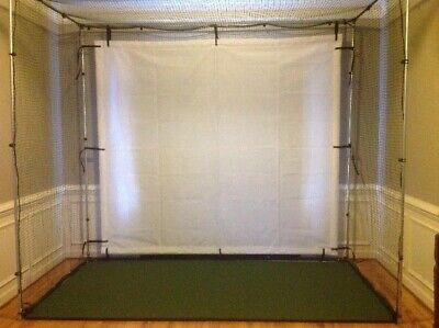 Golf Simulator Cage with 4 sided net /screen 10 x 10 x 10**US MADE**REAL BALL#