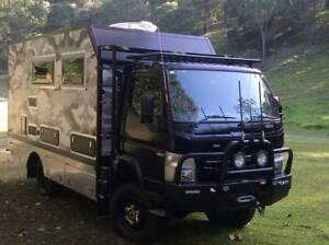 MOTORHOME 4x4 OFF ROAD - 2017 REDUCED FROM $229500 to $209500