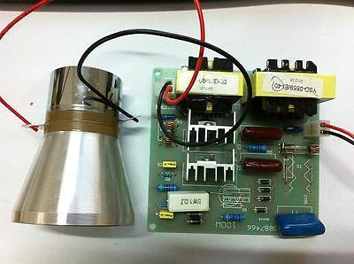 2pcs 50w 40k Transducers 1pcs 110v Ultrasonic Cleaner Power Driver Board