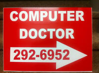 """""""The Computer Doctor"""" OPEN: 440 York St. Complete Service PC/MAC"""