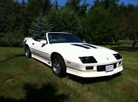 Iroc Z convertible for sale
