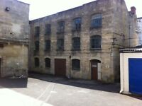 740 sqft Workshop / Storage / Studio on Second Floor of Old Mill Building Stonehouse Gloucestershire