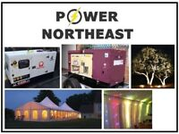 Generator Hire/Rental Wedding/Event/Catering Middlesbrough Newcastle North East