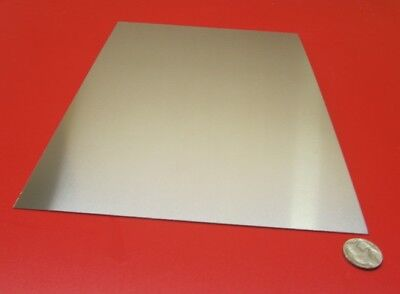 "18-8 Stainless Steel Sheet, Full Hard, .010"" x 8.0"" x 12"" , used for sale  Shipping to Canada"
