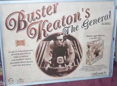 Cinema Poster: GENERAL, THE 1926 (2000s RR Quad) Buster Keaton Marion Mack
