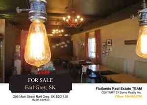 Land & Building For Sale, Earl Grey Sask