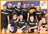 Play Co-ed, For-Fun Dodgeball with FCSSC this Winter!