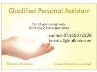 Private Personal Assistant (looking for clients)