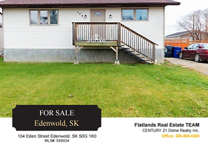 Affordable Bungalow on Large Lot - Edenwold SK