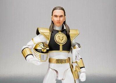 Bandai Power Rangers NEW * White Ranger * SH Figuarts Mighty Morphin Figure](Power Rangers White Ranger)