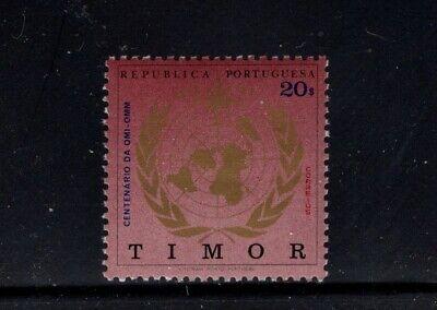 Timor 1973 WMO Centenary Meterologial Emblem MNH Sc 343