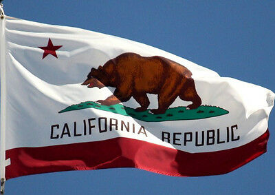 California Flag New 3x5 ft State of USA Seller