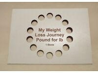 My Diet Journey Pound for £ Weight Loss Incentive Tool 1 Stone