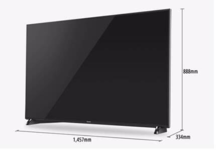 """Panasonic 65"""" TV TH-65DX900U Ultra 4k THX - HDR , 5yr wty,"""
