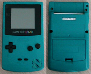 Original Gameboy colour, turquoise Kitchener / Waterloo Kitchener Area image 1