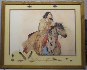"""""""Brave Horse"""" Painting by Carol Grigg"""