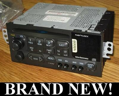 NEW 1995-01 GM CHEVY DELCO AM/FM/CD RADIO IMPALA SS 98-01 S10 BLAZER GMC SONOMA