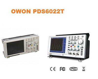 Owon Pds6062 60mhz 250mss Real-time Sample Ratedigital Storage Oscilloscope